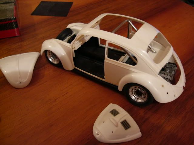 Old skool Cal-look '66 Beetle - Scale Auto Magazine - For building