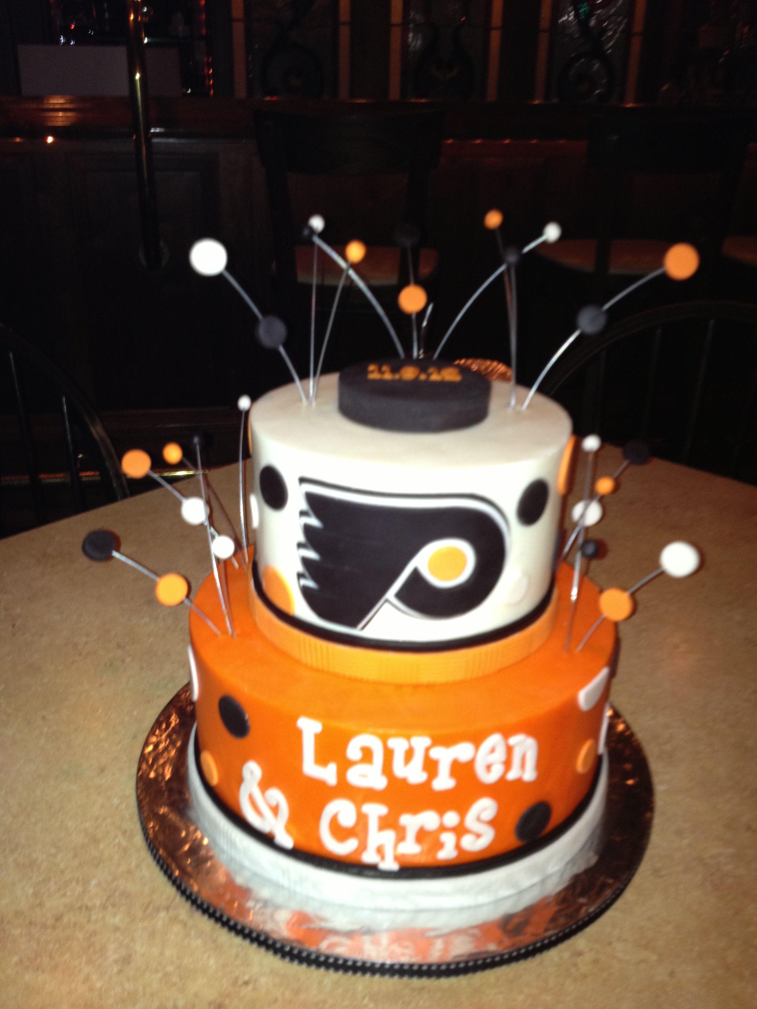 Philadelphia Flyers Bedroom Philadelphia Flyers Wedding Cake Everything Philadelphia