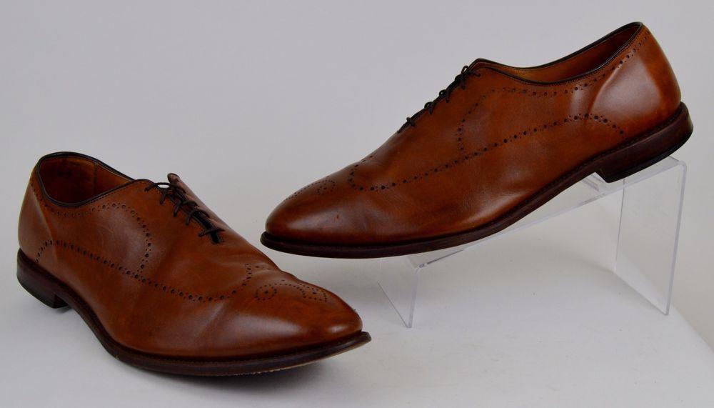 Allen Edmonds Fairfax Men S Shoe Size 16 D Brown Leather Brogue