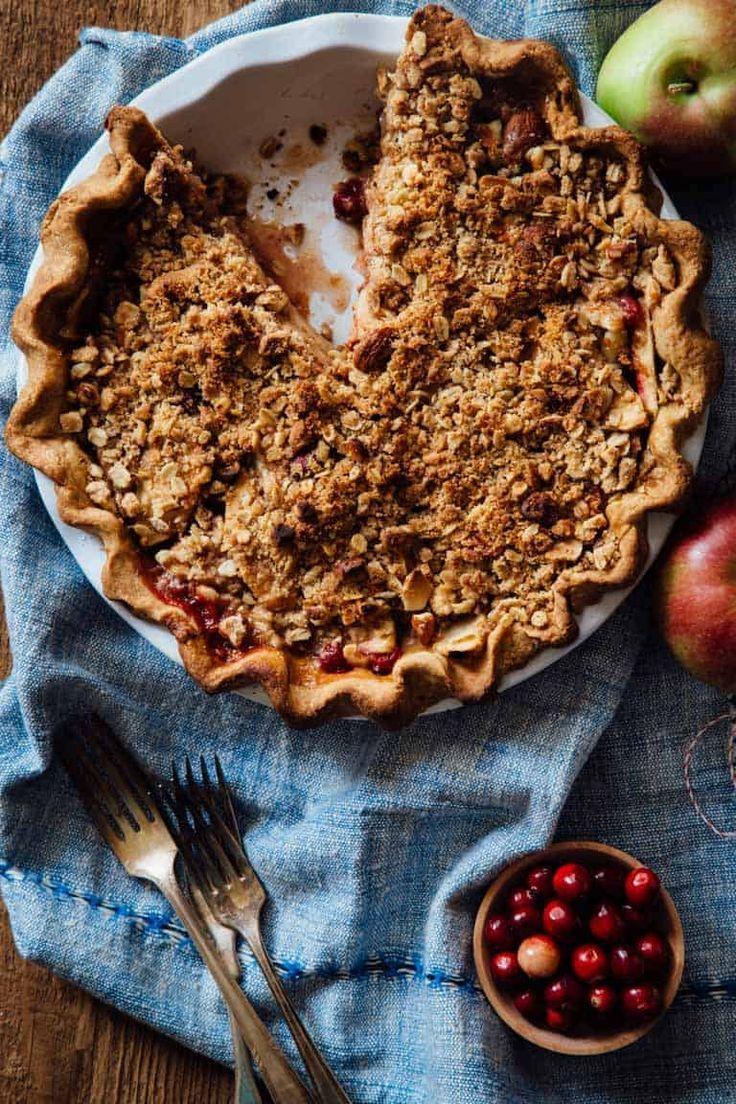 Maple cranberry apple pie Recipe Apple cranberry pie