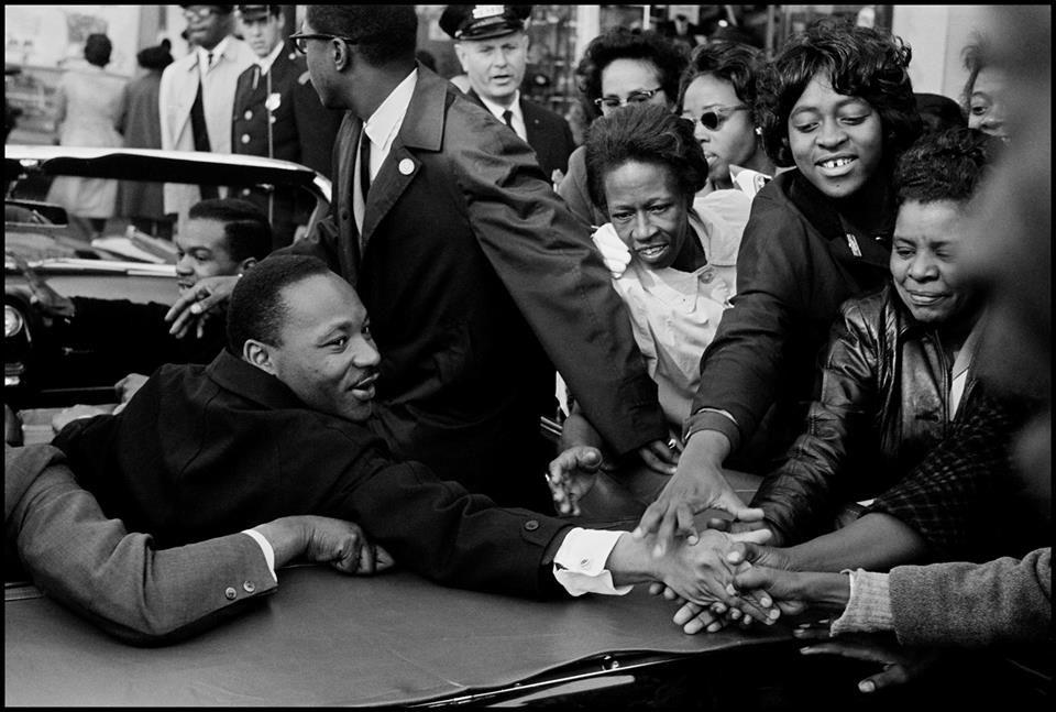 Leonard Freed- MLK