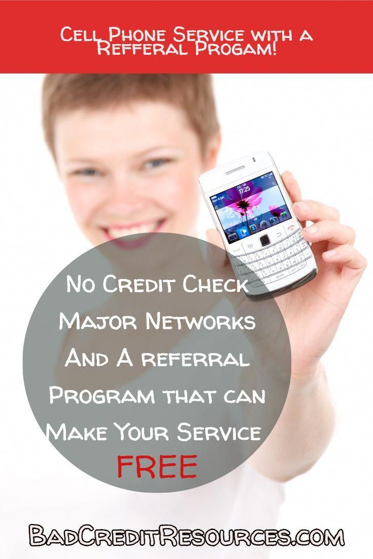 You can get cell phone service with MAJOR networks thru us