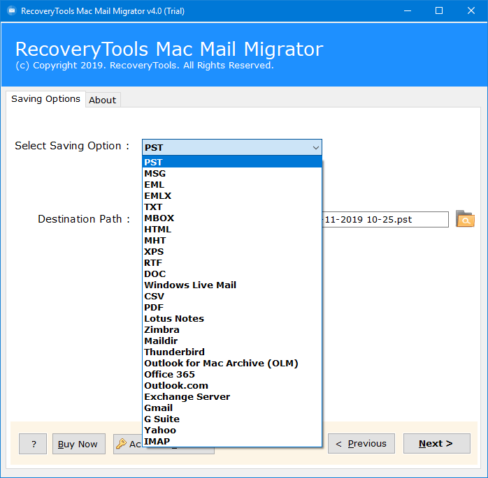 Mac Mail To Pst Free Tool To Export Mac Mail To Outlook For