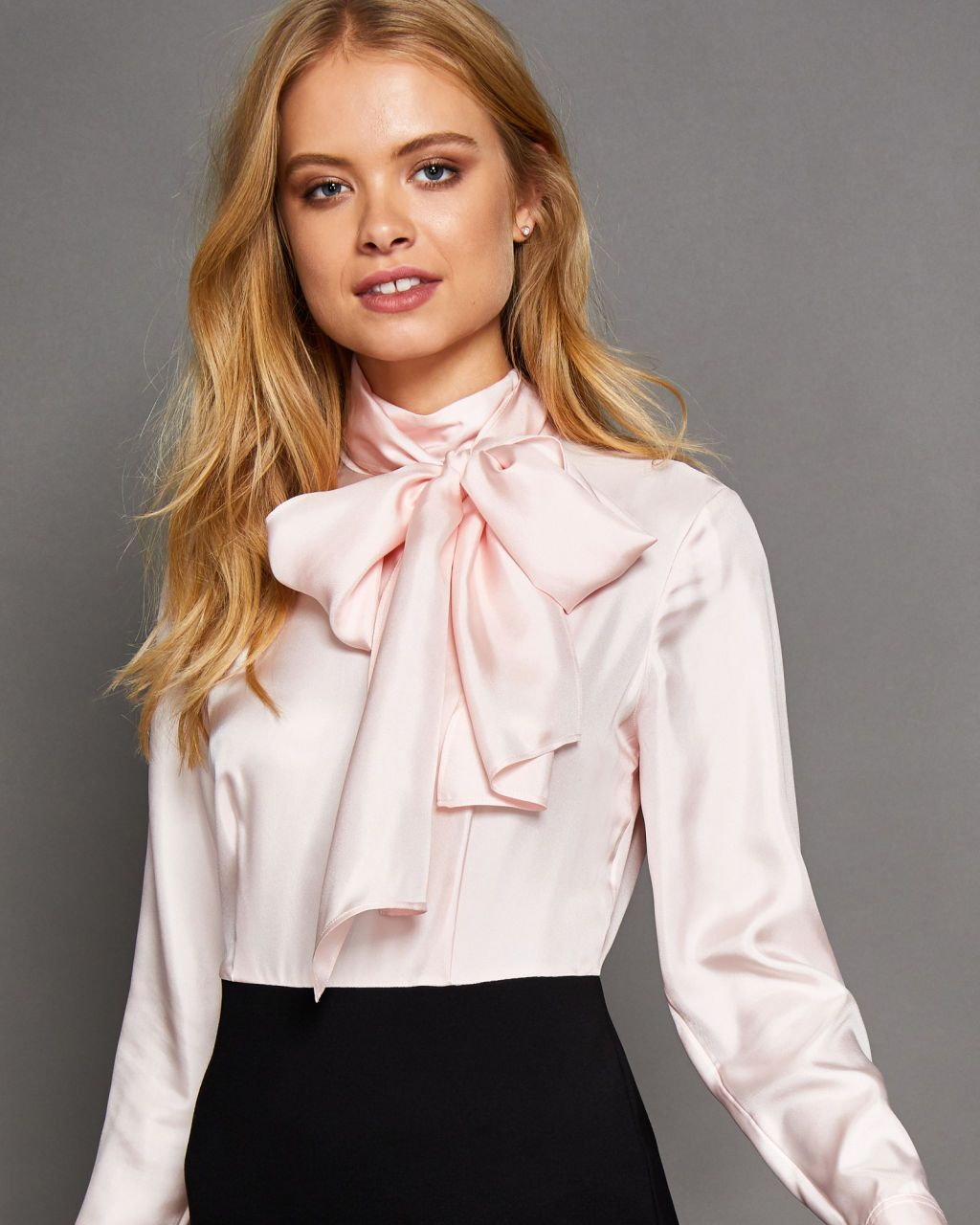 Ted baker bow neck bodycon dress ads