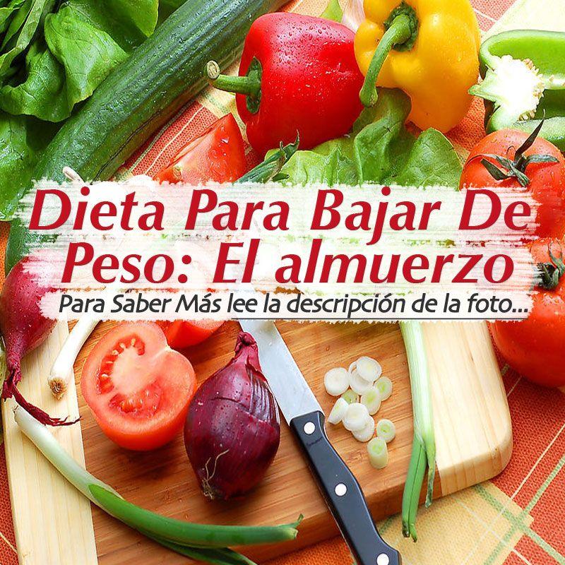 Ideas De Almuerzos Saludables Para Bajar De Peso