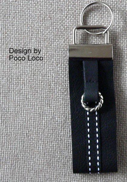 Schlusselanhanger Leder Unikat Poco Loco And Diy Design