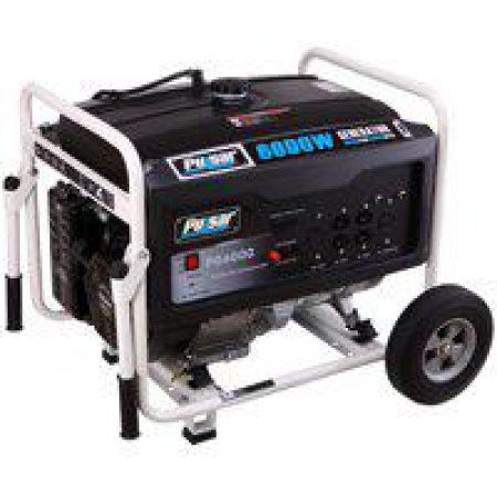 Pulsar GAS 6000W Generator Rated 5000W, Multicolor