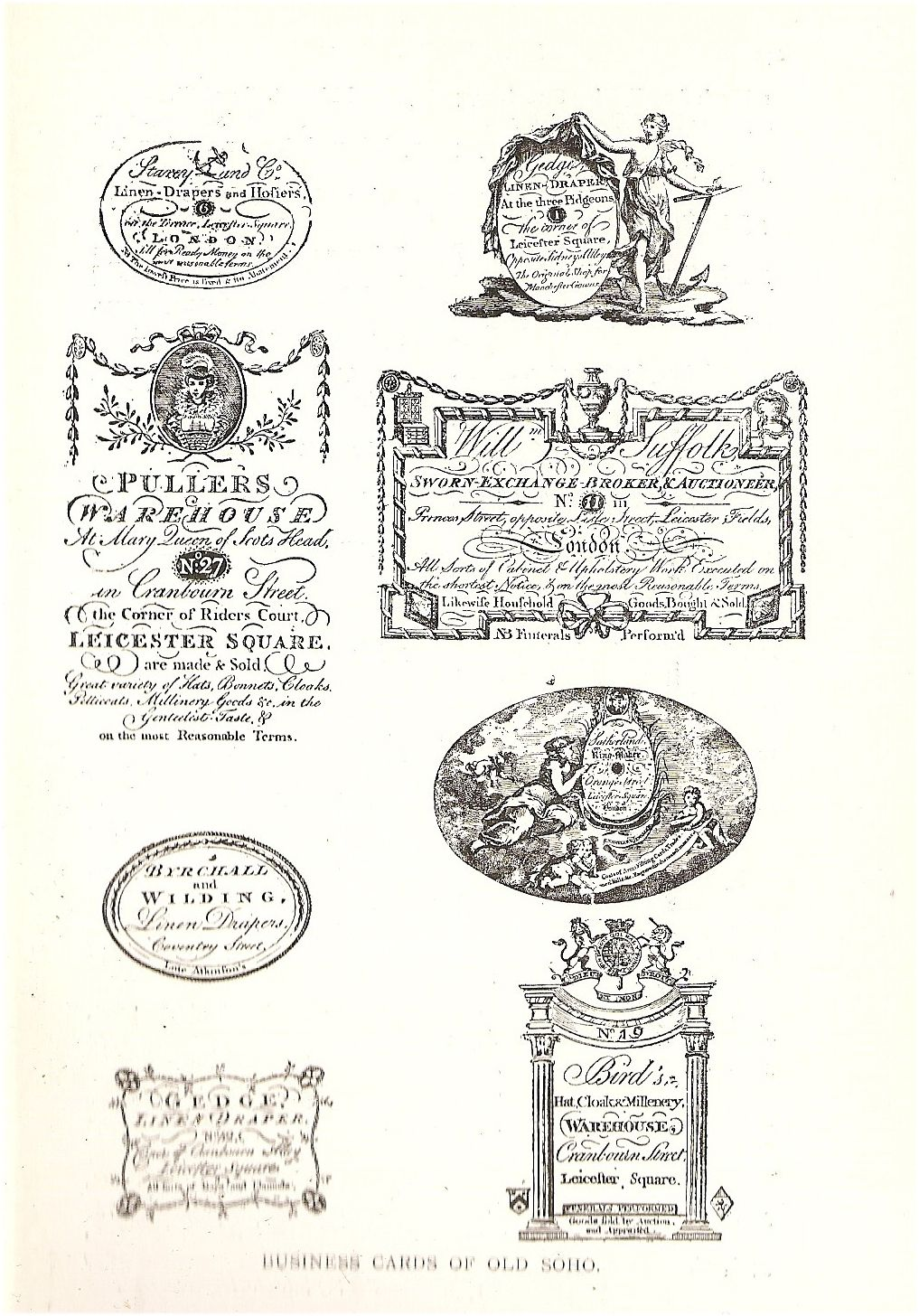 18th Century Soho Business cards. http://www.itsnicethat.com ...