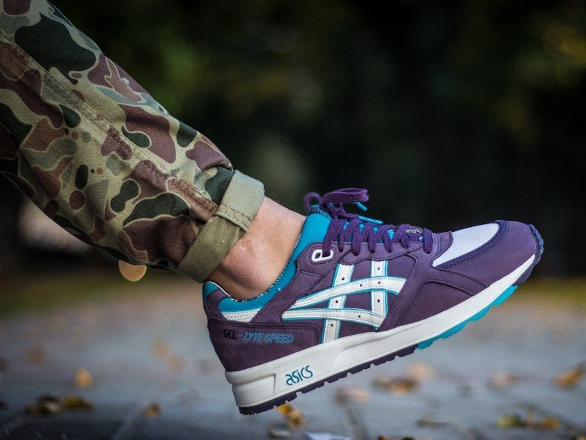 Asics Gel Lyte Speed Purple Asics Sneakers Asics Gel Lyte Iii