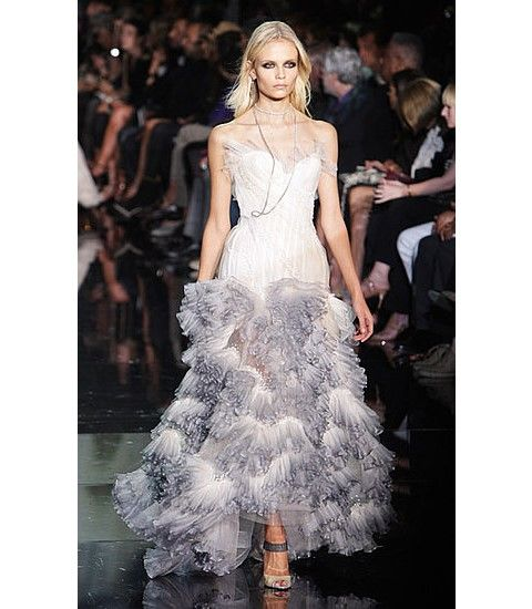 Roberto Cavalli Wedding Dress Image Courtesy Of Bridal Wave