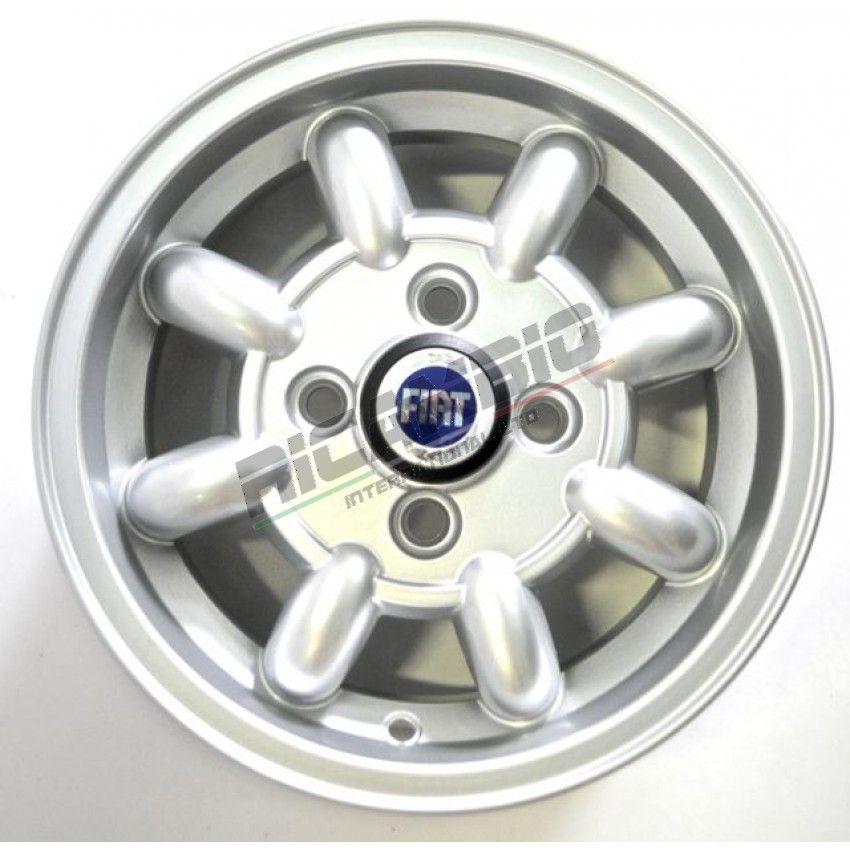 Set Of 12 Inch Alloy Wheels Minilite Classic Fiat 500 126 Fiat 500 Alloy Wheel Fiat
