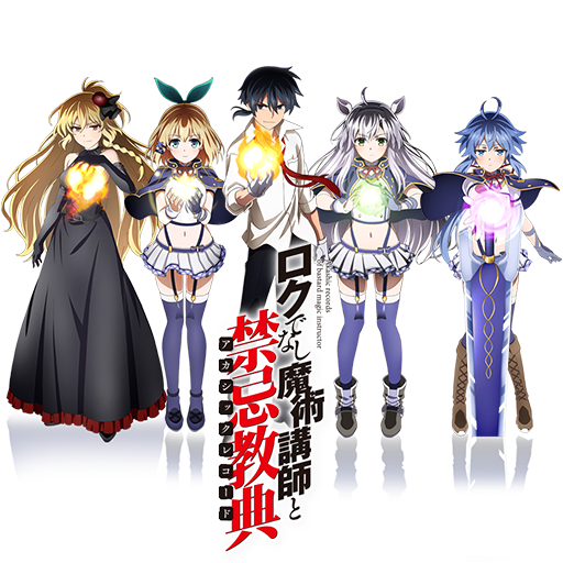 Rokudenashi Majutsu Koushi to Akashic Records Icon by