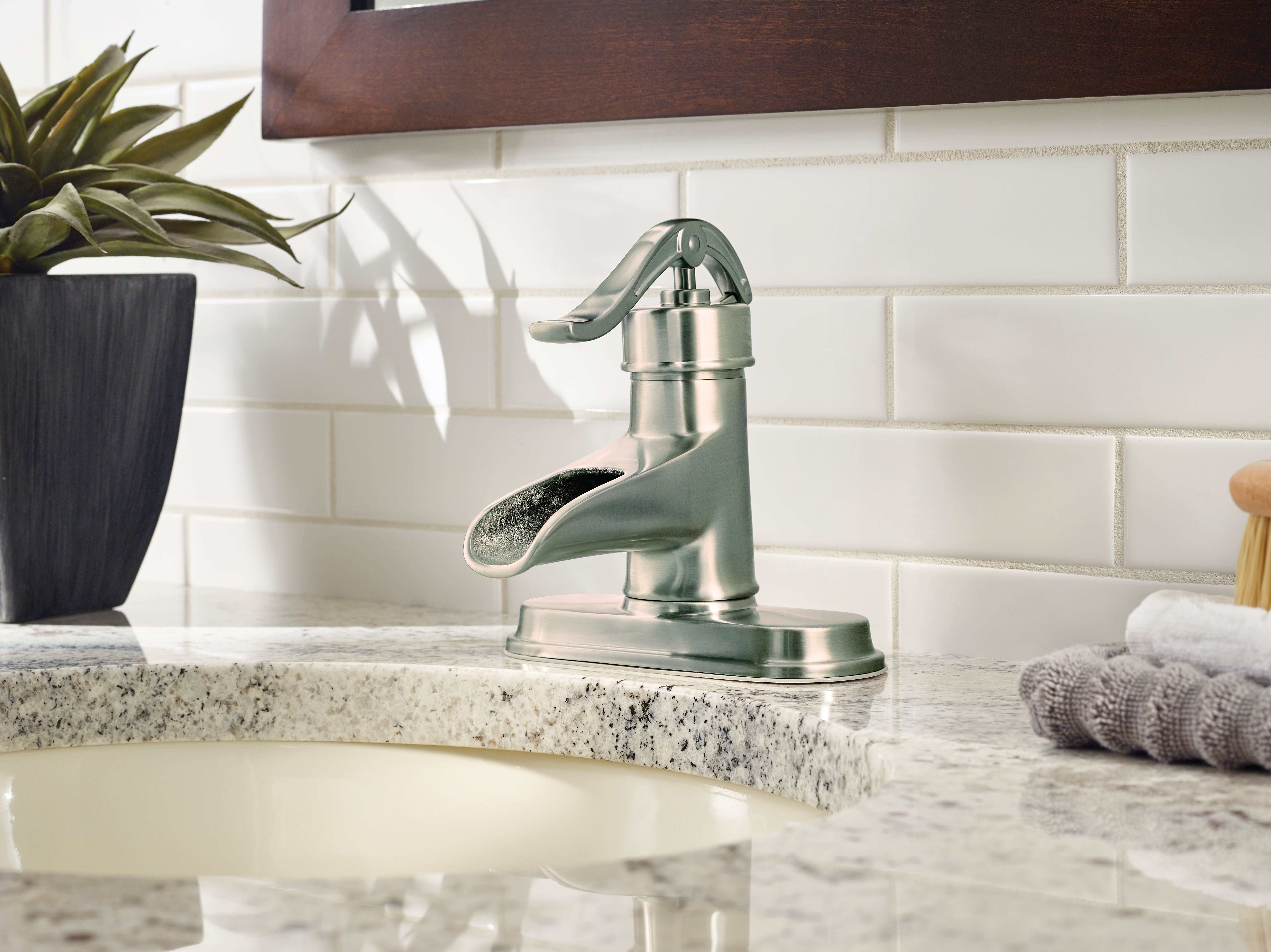Add timeless style and durable design to your bathroom with this ...