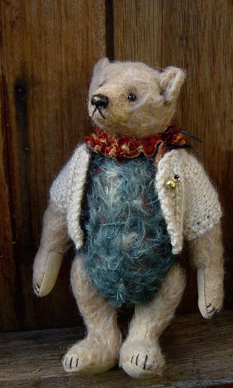Shabby Chic Mohair Artist Bear