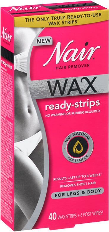 Nair Makes Waxing As Easy As Shaving With Wax Ready Strips Nair Wax Wax Strips Nair Hair Removal
