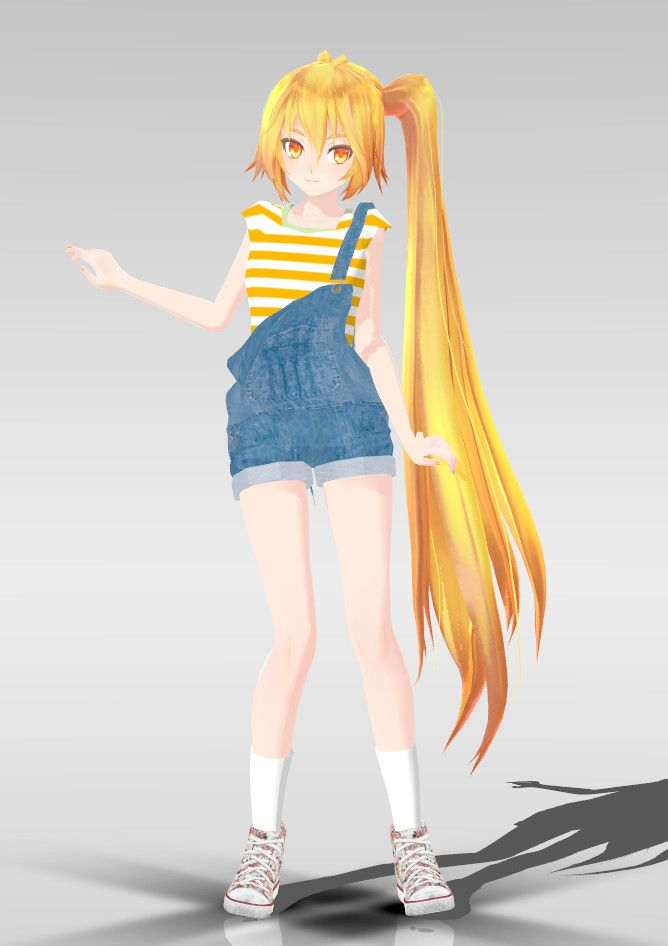 Anime Characters For Gmod : Mmd tda cutie neru dl by rin akita