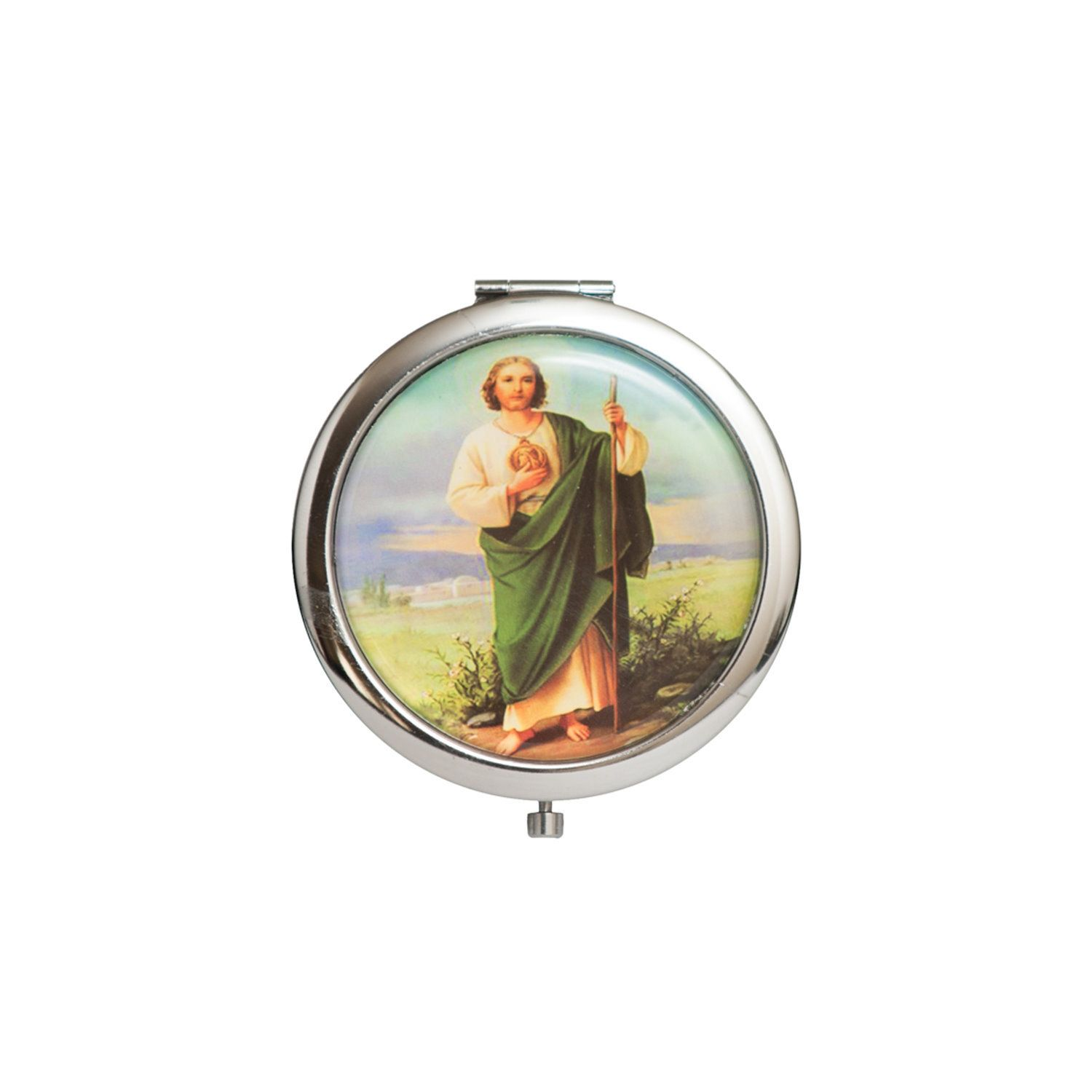 Photo of Compact Mirror-Make Up Mirror Favors. St Jude.