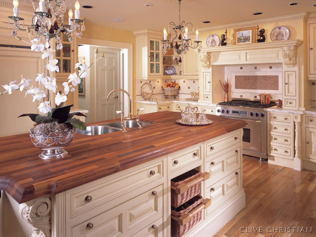 Beautiful Traditional Kitchen Designs Beautiful Kitchens  Luxury Clive Christian Kitchen Transforms