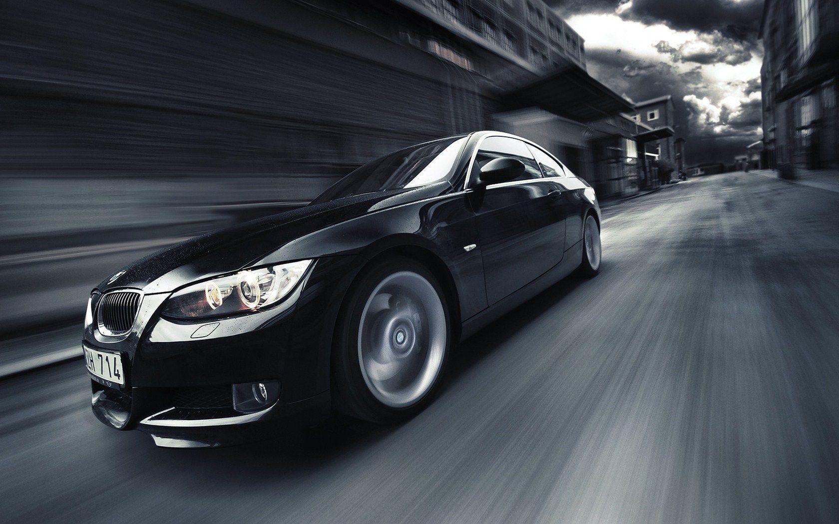 Matte Black BMW M3 Wallpaper HD