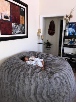 Bean Bag Chair Girl Bedroom Decor, Big Bean Bags For Living Room