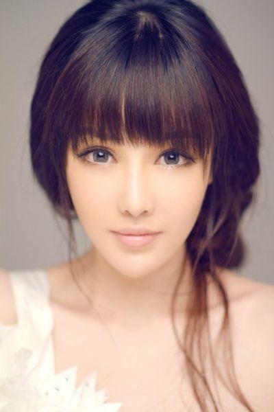 Long hair secretary cute asian