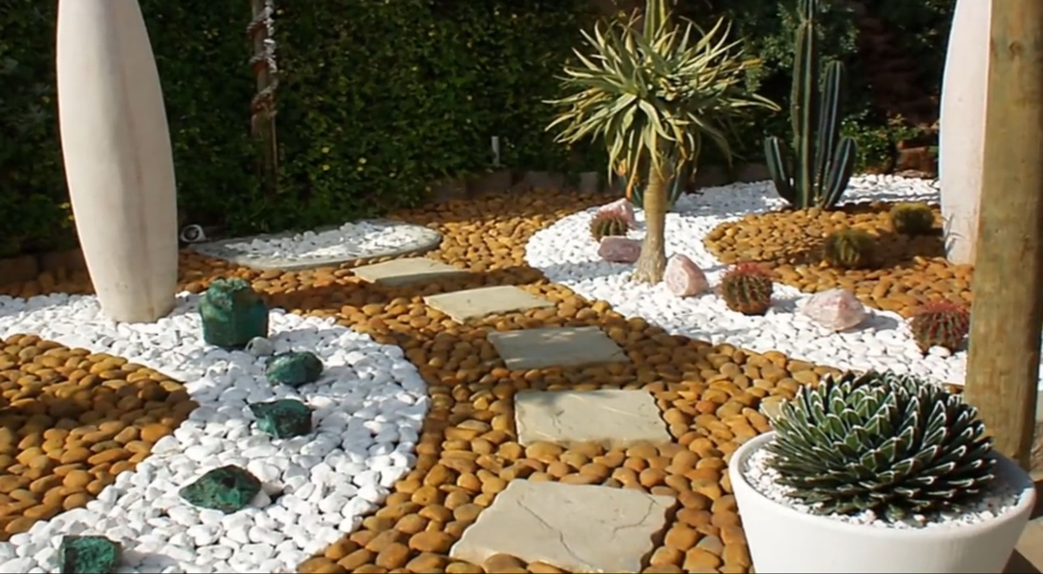 Pin By Nancy On Plantas Tolerantes A La Sequia Rock Garden Design Pebble Garden Garden Design
