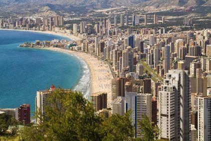 Valencia lies on the Mediterranean Sea.