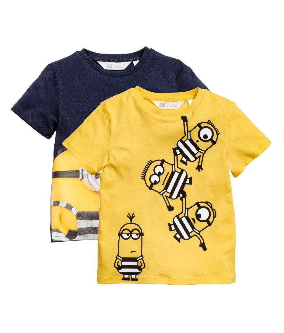 fa4e97184afcd Pack de 2 camisetas