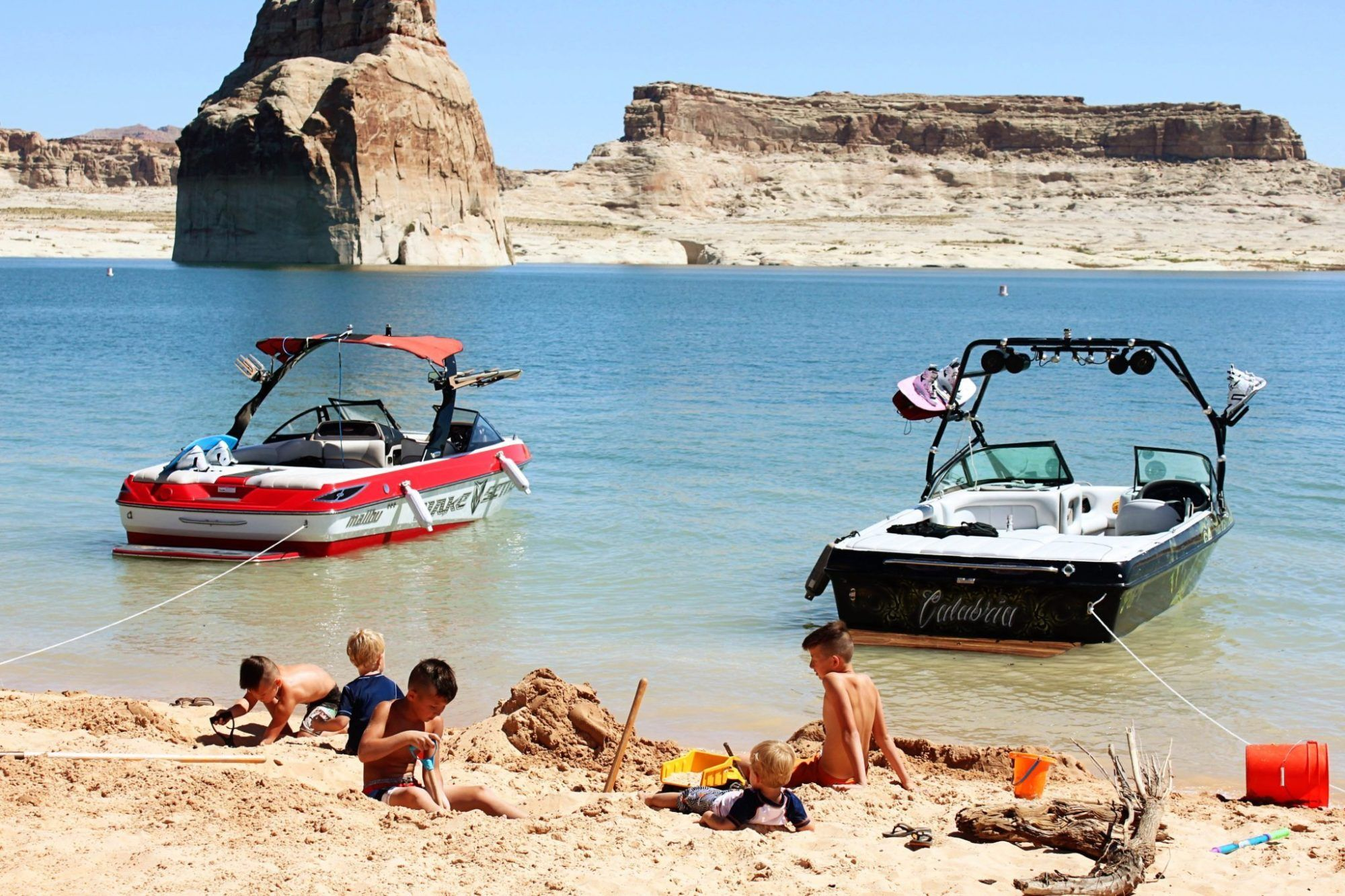 Lake Powell Boating First Time Guide