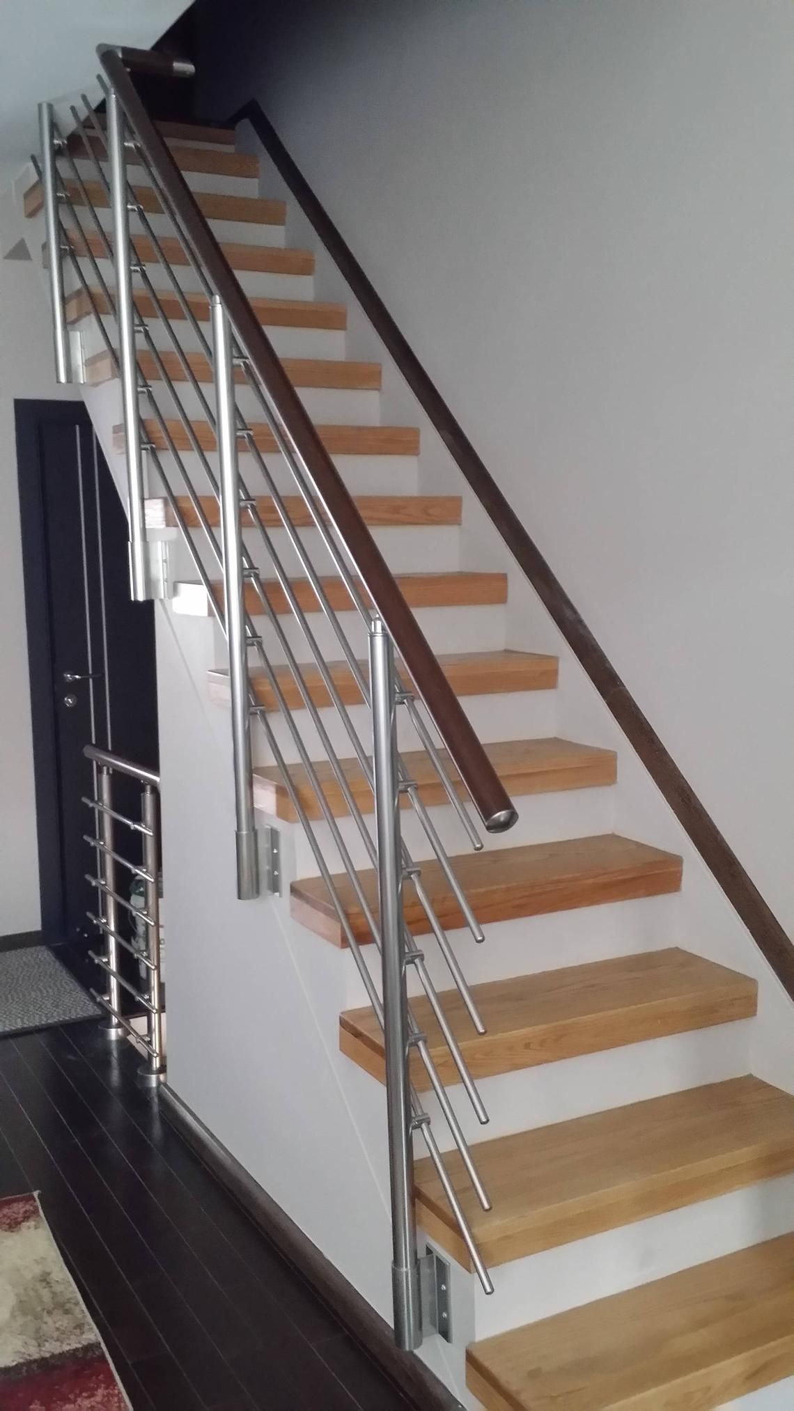 Best Modern Stairs Balcony Hand Rail Staircase Railing Kit Aluminium Side Connected Modern Stairs 400 x 300
