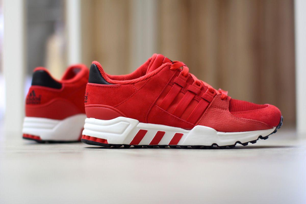 "online retailer acc14 c0a1b adidas Equipment Running Support 93 ""Scarlet Red"""