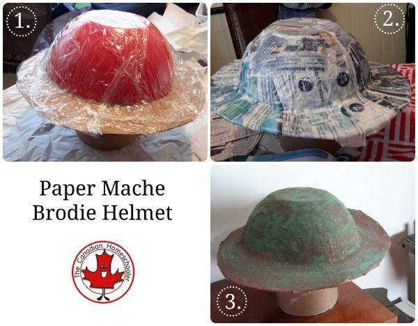 Hands-on Canadian History: World War I - Brodie Helmet   School