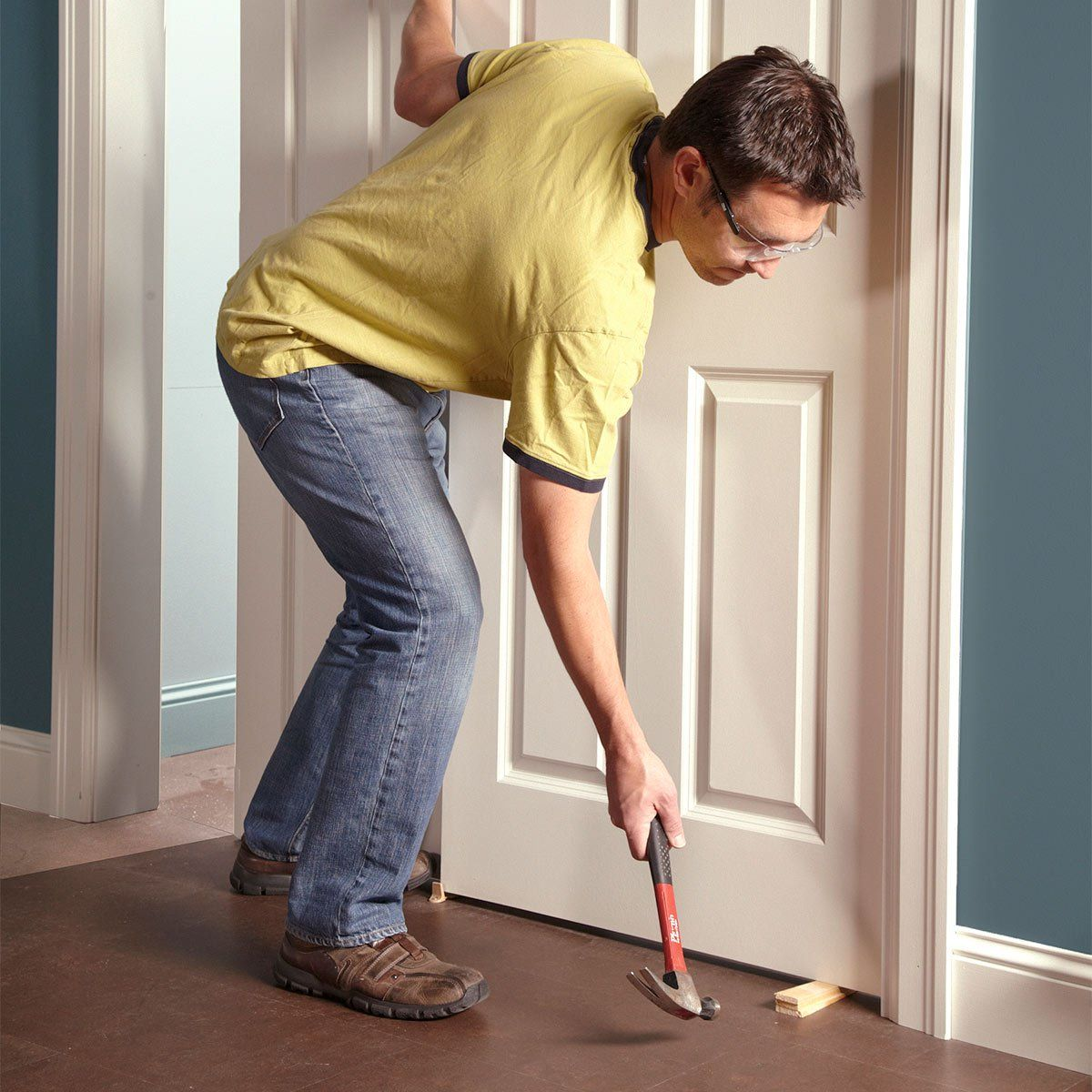 how to remove a pocket door track