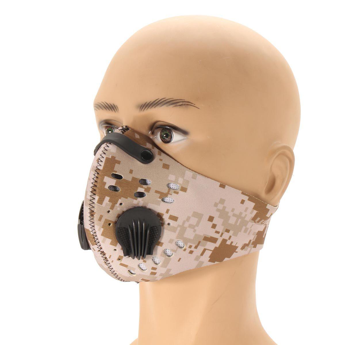NEUE Staubdicht Maske Schutz Atmungs Radfahren