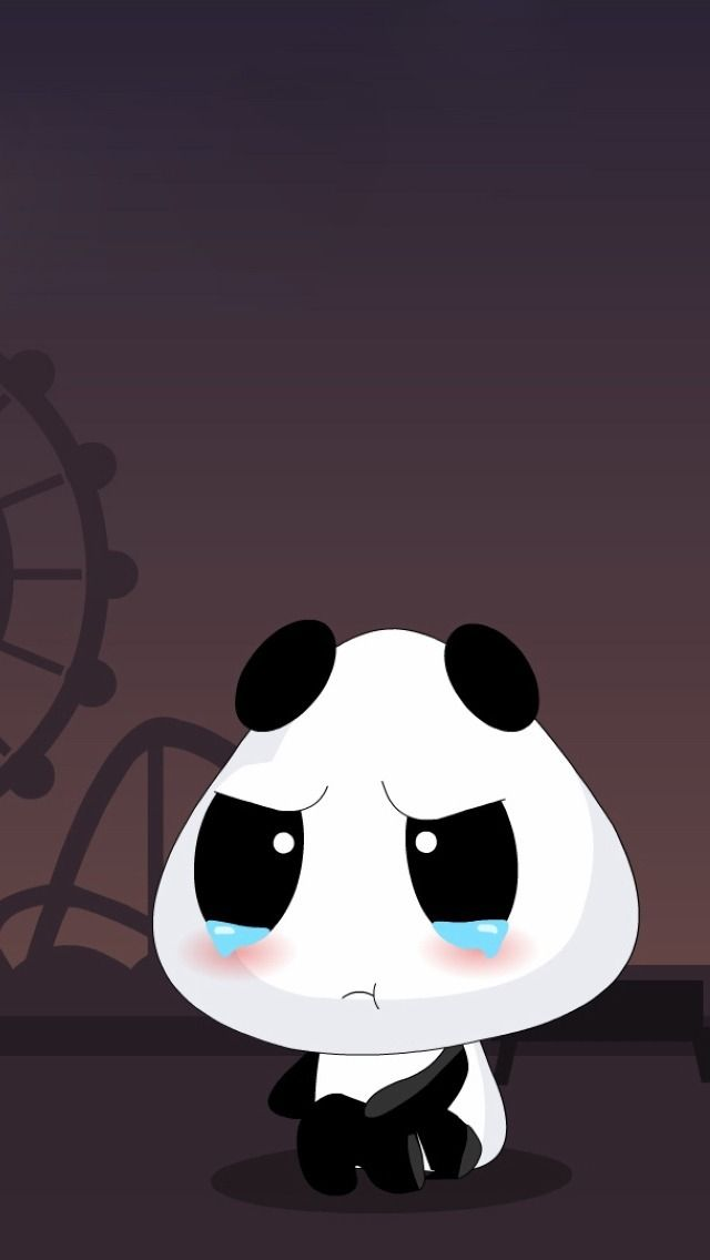Panda Cartoon Iphone Wallpapers Background And Themes Love Cute Cartoon Wallpapers Cute Panda Cartoon Panda Background