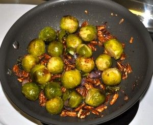 Brussels Sprouts with Toasted Pecans
