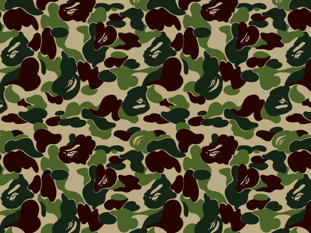 acb040a2b89a Bape camouflage   moodboard   Camo, Camo wallpaper und Wallpaper