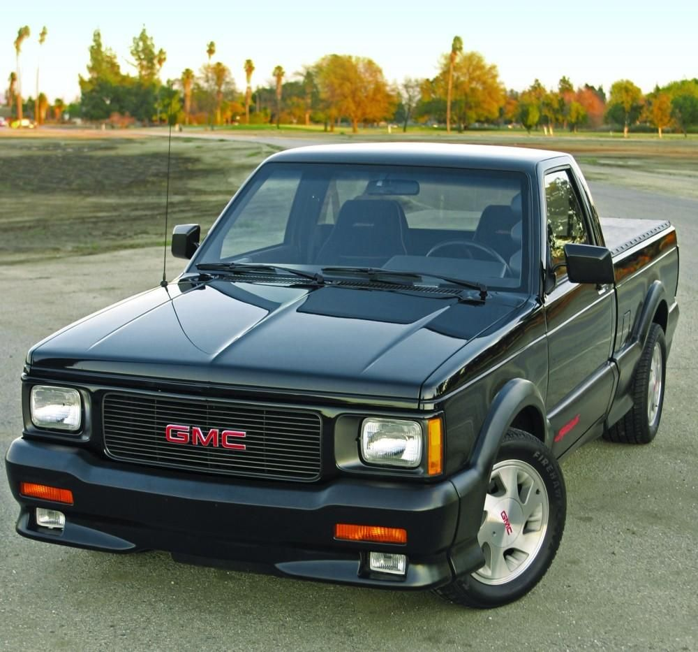 When Turbos Met Tailgates 1991 Gmc Syclone Gmc Vehicles Gmc