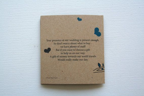 Wedding Invitation Cash Gift Wording: We Are Already Married And Just Having A Big Wedding So