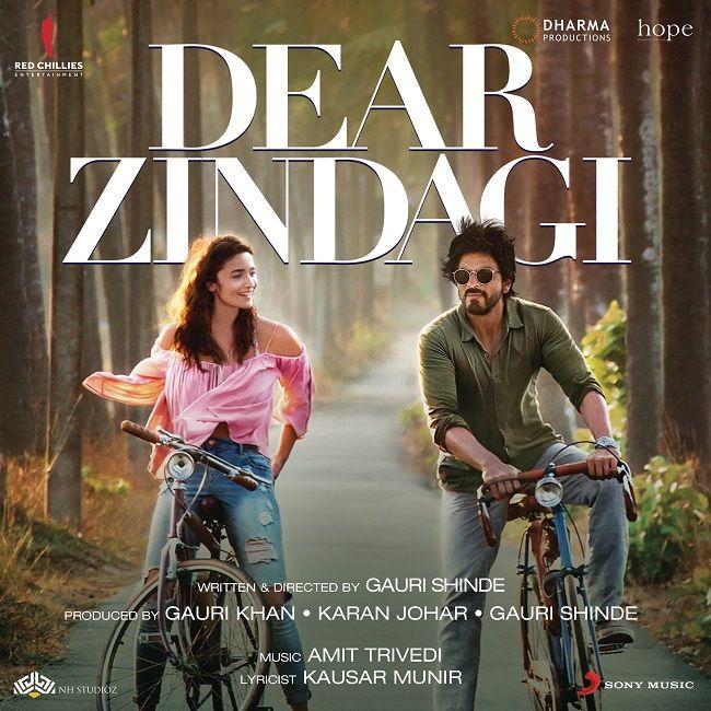 Dear Zindagi 2016 Flac Wav Songs Download Hindi Movies
