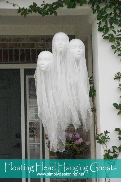 71 Halloween Porch Decoration Ideas   wwwfuturistarchitecture - halloween ghost decor