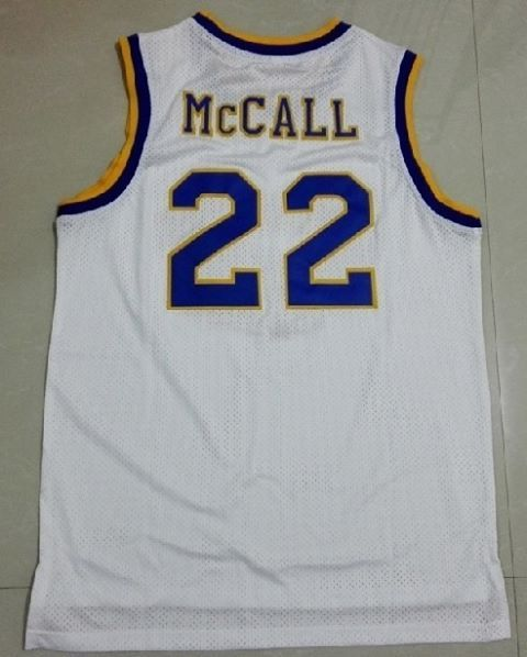 9a39d6e02c4c Quincy McCall 22 Crenshaw Jersey High School White Basketball Jersey Great  jersey