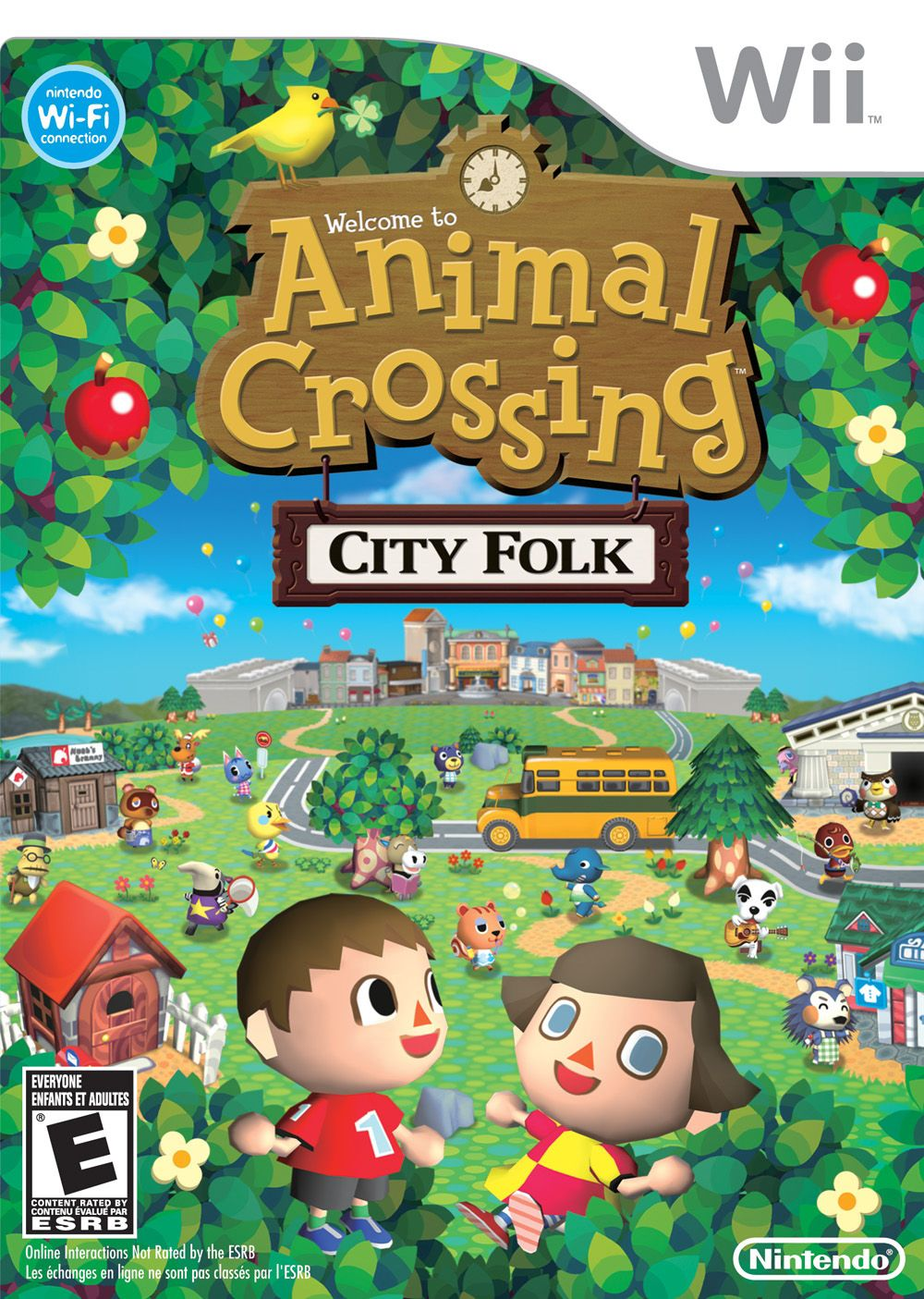 Download Animal Crossing City Folk Lets Go To The City