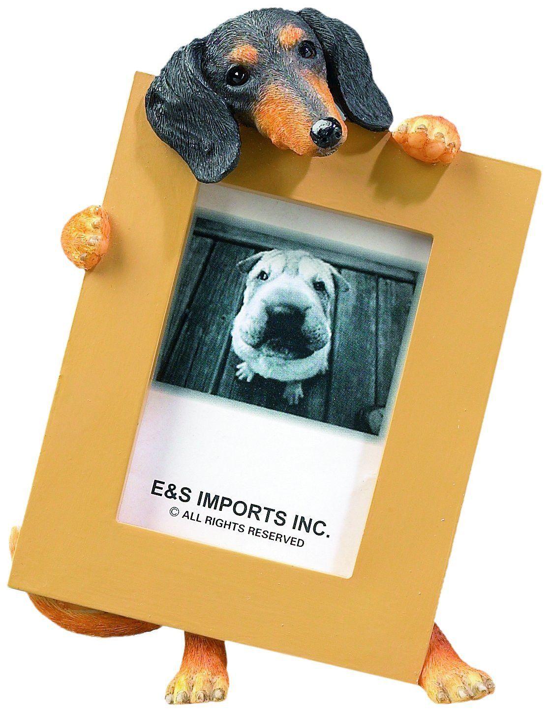 31e25d0960d Dachshund Black Dog Picture Frame Holder