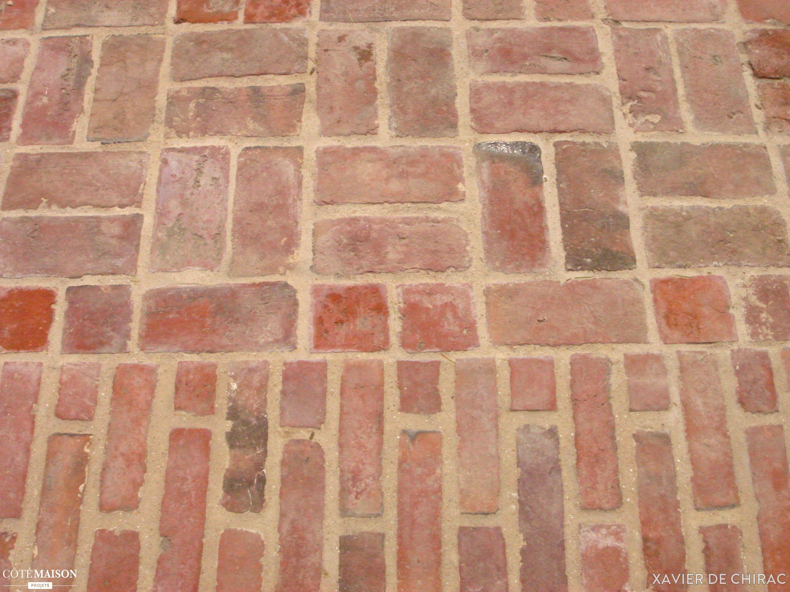 Carrelage Terrasse Exterieur Rouge Brique Plaquettes De Parement