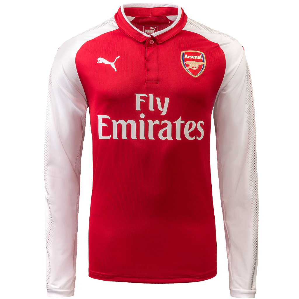 Arsenal Home LS Jersey 2017-18