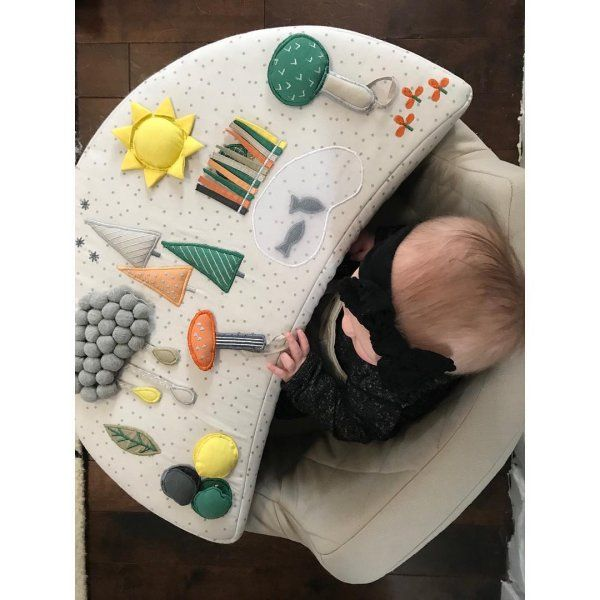 Busy Baby Activity Chair | Crate and Barrel in 2020 | Baby ...