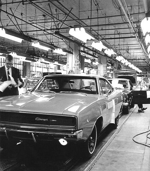 Boise Jeep Dealer: Another 1968 Dodge Charger, Rolls Off The Assembly Line