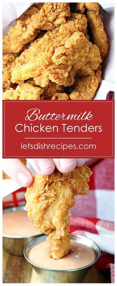 Buttermilk Chicken Tenders Recipe In 2020 Chicken Tender Recipes Buttermilk Chicken Tenders Buttermilk Chicken