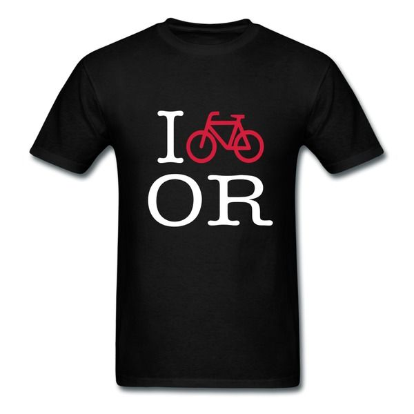 999aa82a Custom I Bike Oregon Men's T-shirt For Sale Bicycles T-shirts Hicustom.net